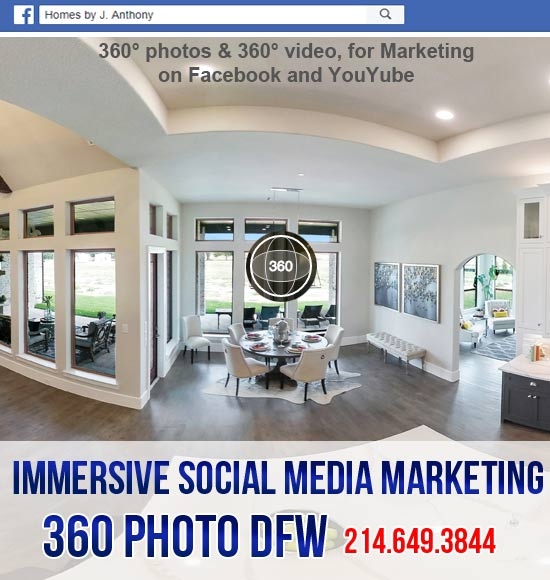 360 photo DFW offers 360 photography service for Immersive Social Media Marketing in Dallas Fort Worth