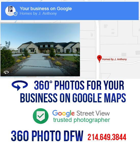360 photo DFW offers photography service for Google My Business in Dallas Fort Worth