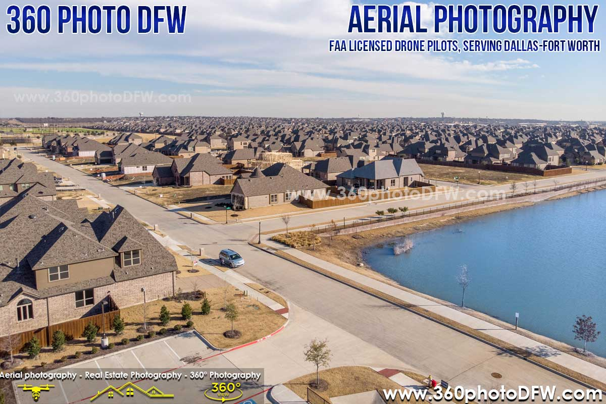Aerial Photography in Prosper, TX and other locations in Dallas-Fort Worth - 360 Photo DFW