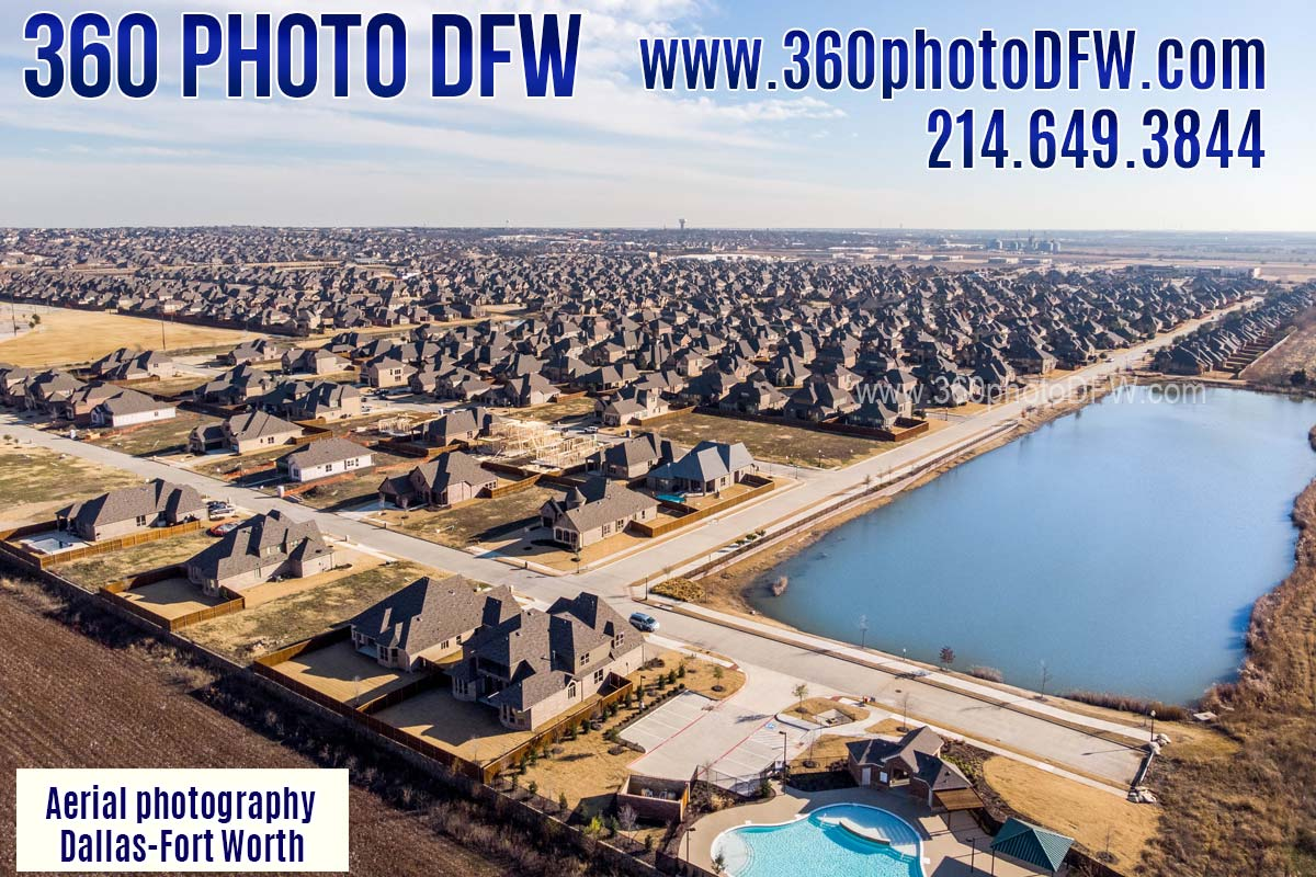 Aerial Photography, Aerial Video, Real Estate Photography in Dallas Fort Worth - 360 Photo DFW
