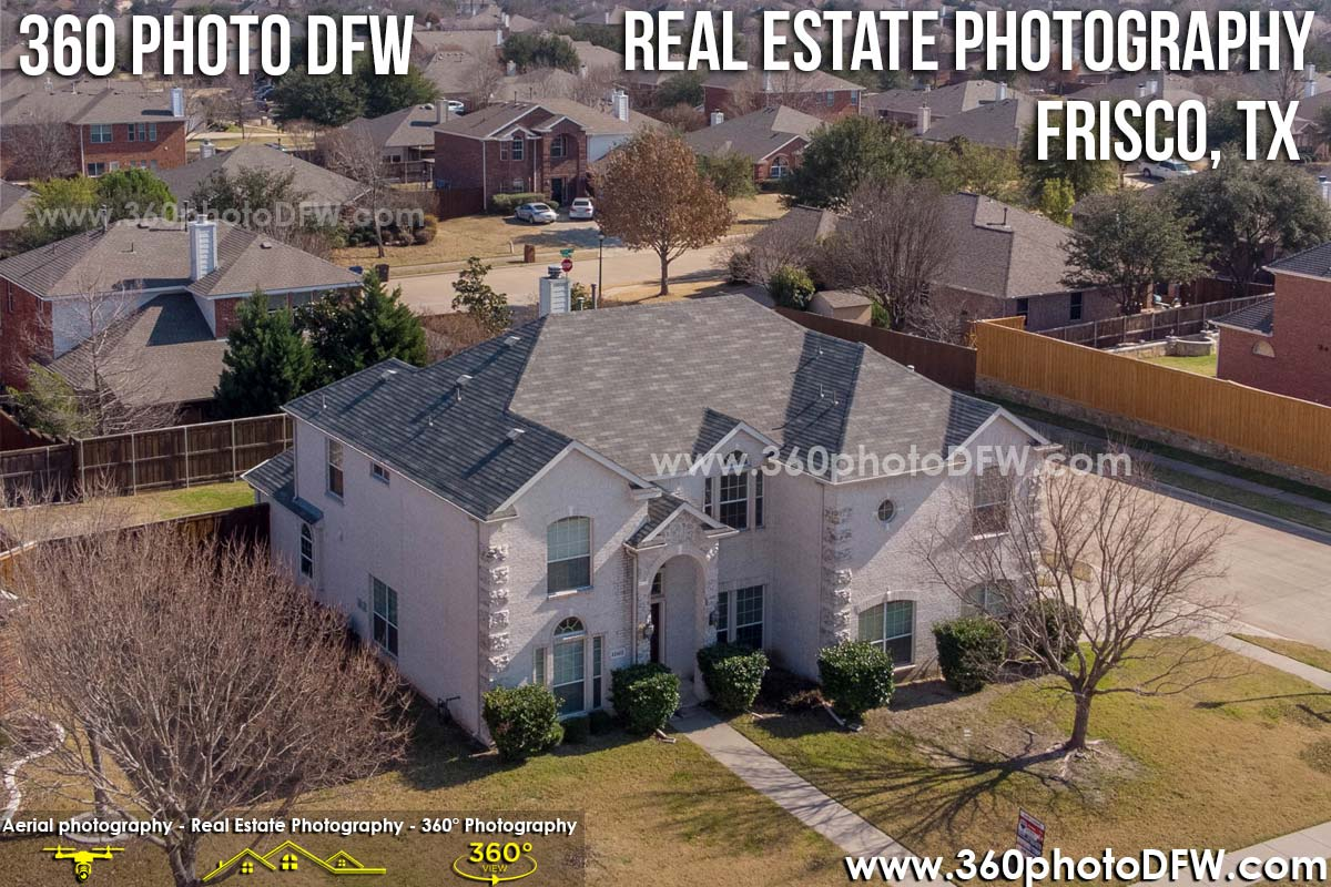 Real Estate Photography, Aerial Photography in Frisco, TX - 360 Photo DFW