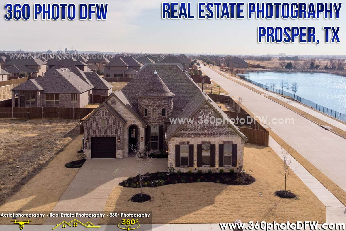 Real Estate Photography, Aerial Photography in Prosper, TX - 360 Photo DFW