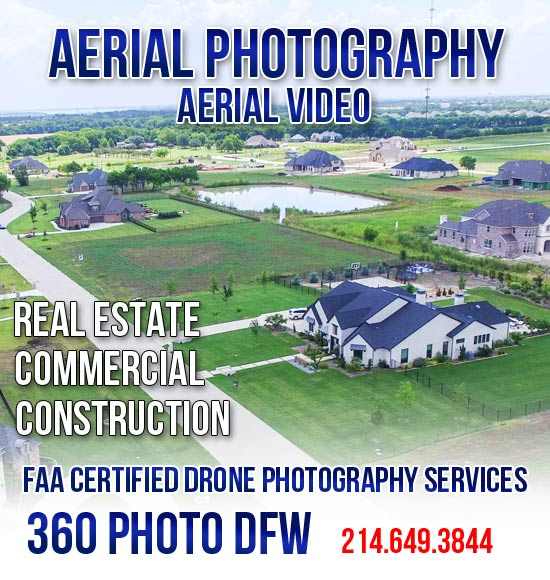 360 photo DFW offers Aerial Photography, Real Estate Photography in Dallas Fort Worth