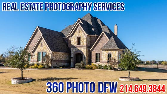 Real Estate Photography, Aerial Photography service in Dallas Fort Worth - 360 Photo DFW
