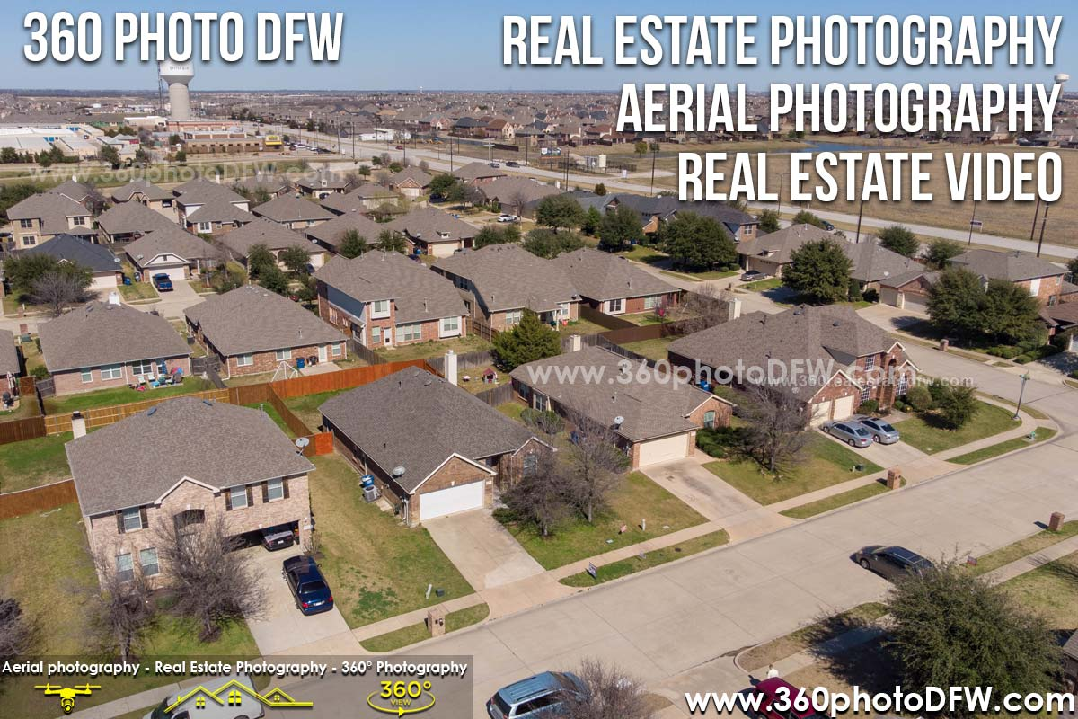 Real Estate Photography, Aerial Photography in Little Elm, TX - 360 Photo DFW