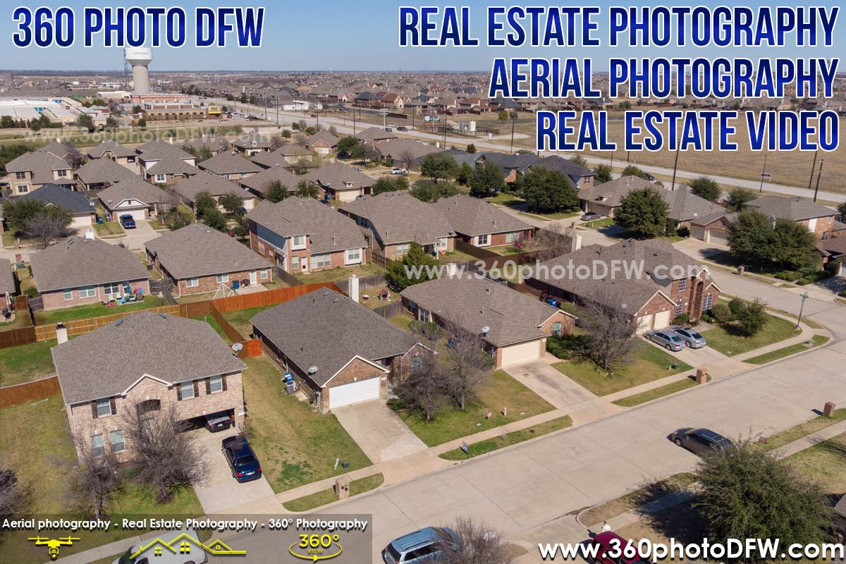 Aerial Photography, Real Estate Photography, Real Estate Video in Little Elm, TX - 360 Photo DFW