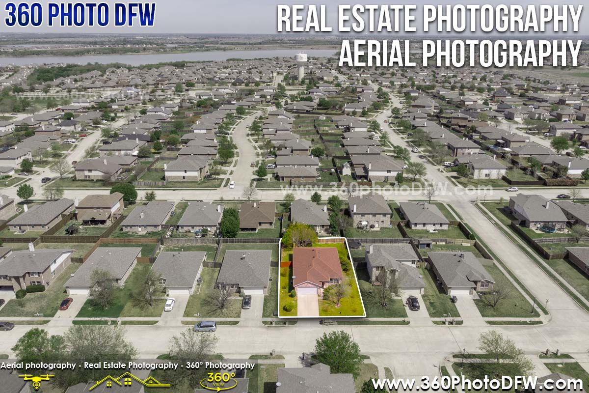 Aerial Photography, Real Estate Photography in Little Elm, TX - 360 Photo DFW 214.649.3844