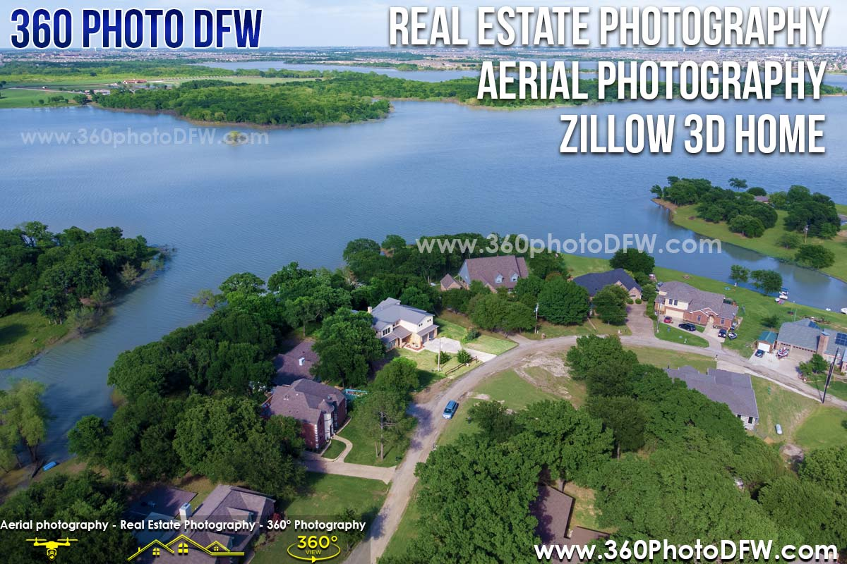 Aerial Photography, Real Estate Photography, Zillow 3D Home in Little Elm, TX and DFW- 360 Photo DFW - 214.649.3844