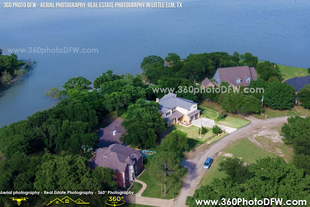 Aerial Photography, Real Estate Photography, Real Estate Video in Little Elm, TX and DFW- 360 Photo DFW - 214.649.3844