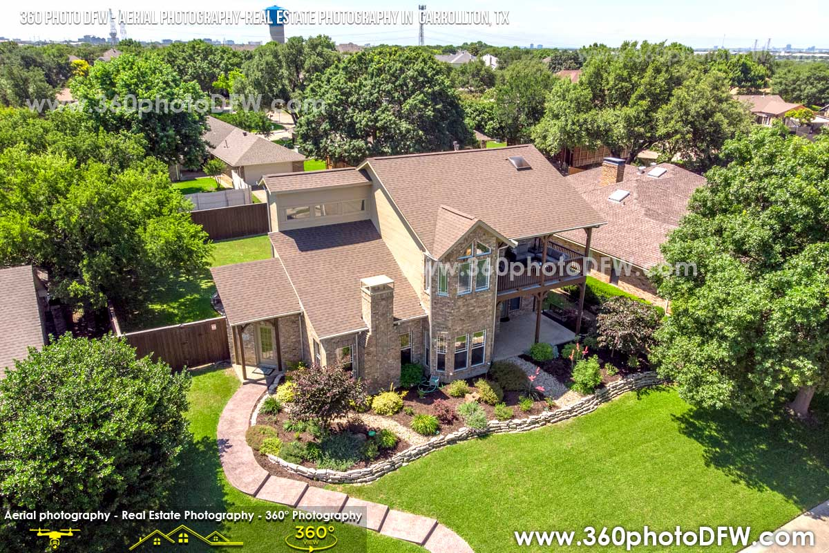 Real Estate Photography, Aerial Photography in Carrollton, TX - 360 Photo DFW - 214.649.3844