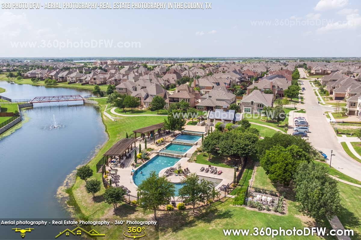Aerial Photography, Real Estate Photography in The Colony, TX - 360 Photo DFW - 214.649.3844