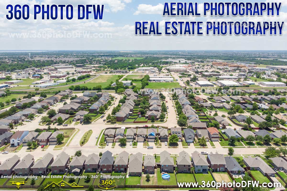 Real Estate Photography, Aerial Photography in Wylie, TX - 360 Photo DFW - 214.649.3844