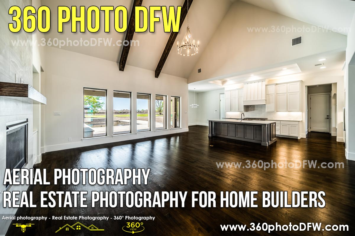 Aerial Photography, Real Estate Photography For Home Builders in Dallas-Fort Worth