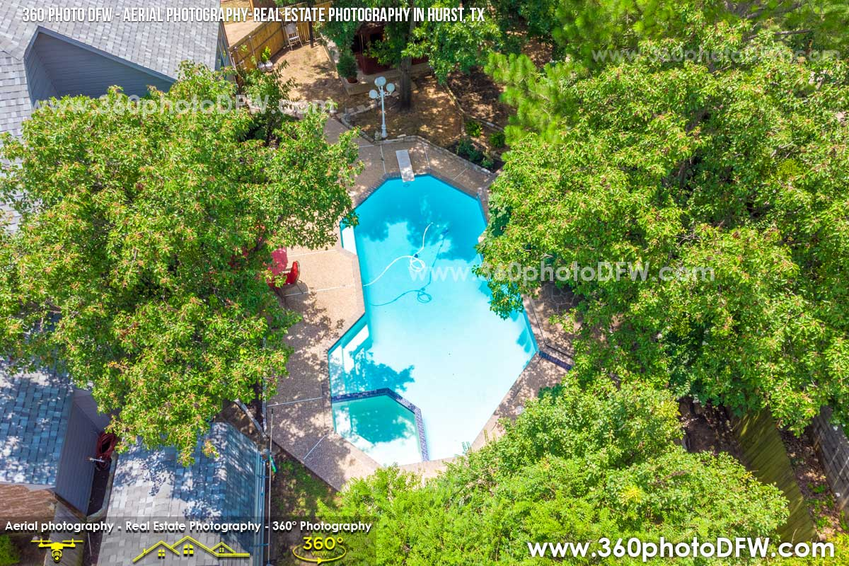 Aerial Photography, Real Estate Photography in Hurst, TX - 360 Photo DFW - 214.649.3844