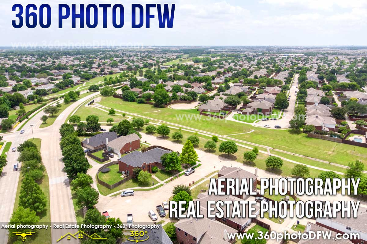 Aerial Photography, Real Estate Photography in McKinney, TX - 360 Photo DFW - 214.649.3844