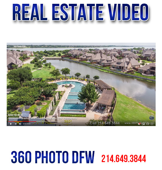 Real Estate Video production in Dallas-Fort Worth - 360 Photo DFW - 214-649-3844