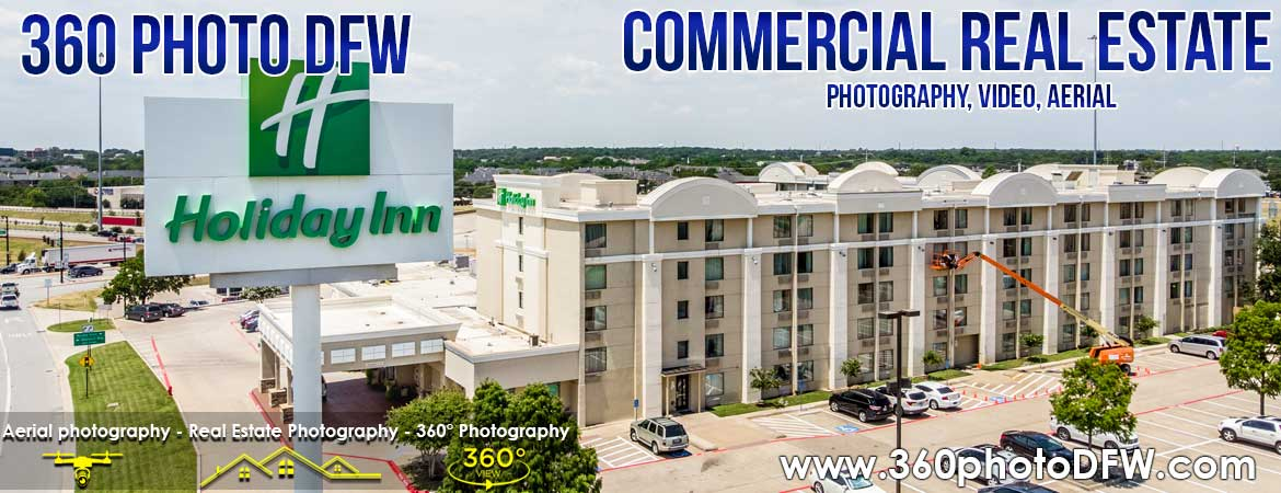Commercial Real Estate Photography and Video including Drone in Dallas-Fort Worth and North Texas - 360 Photo DFW