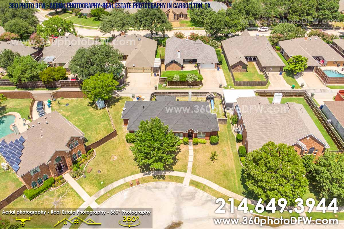 Aerial Photography, Real Estate Photography in Carrollton, TX - 360 Photo DFW - 214.649.3844