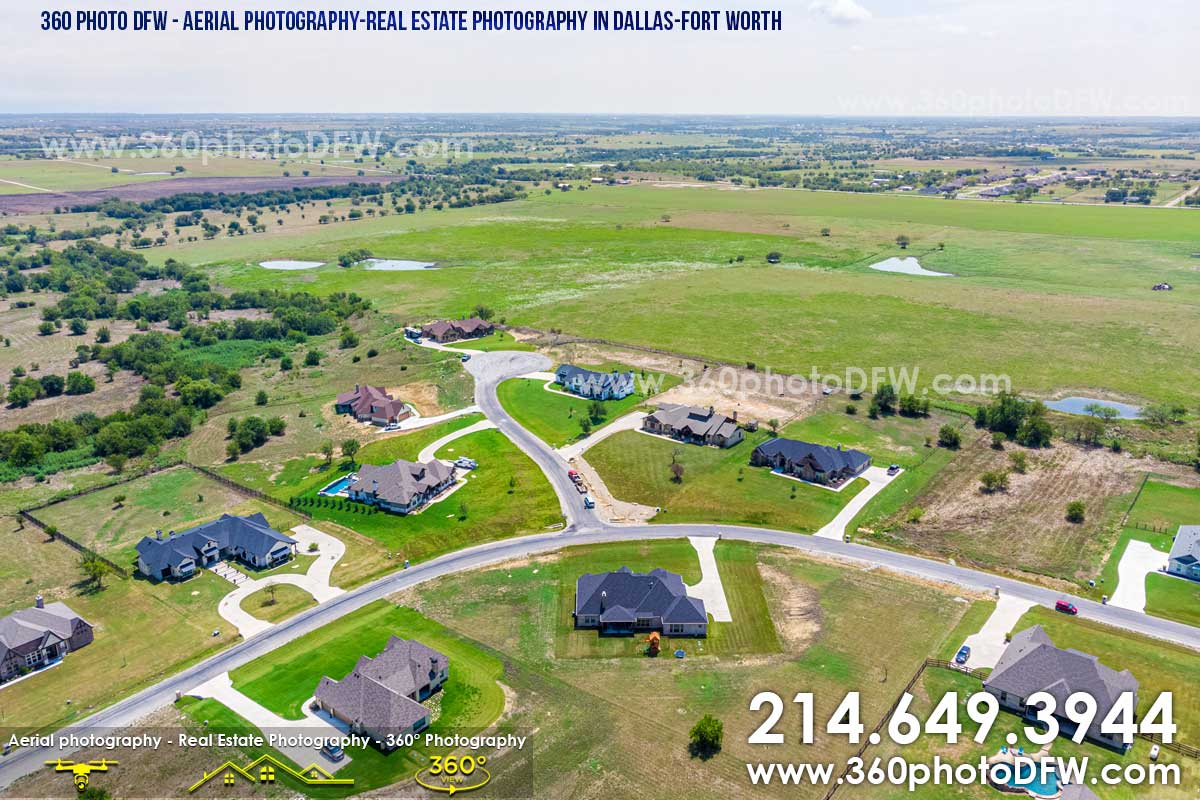 Aerial Photography, Real Estate Photography in Dallas-Fort Worth - 360 Photo DFW - 214.649.3844