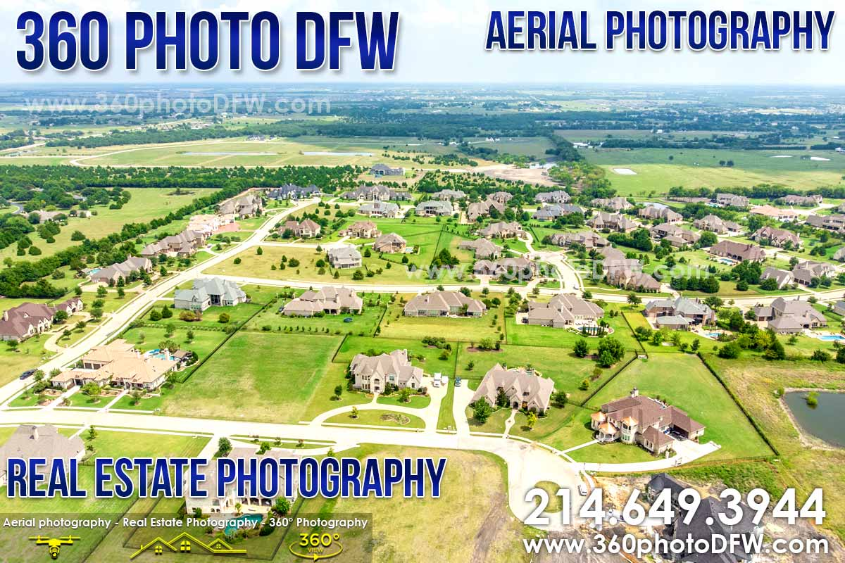 Aerial Photography, Real Estate Photography in Rockwall, TX - 360 Photo DFW - 214.649.3844