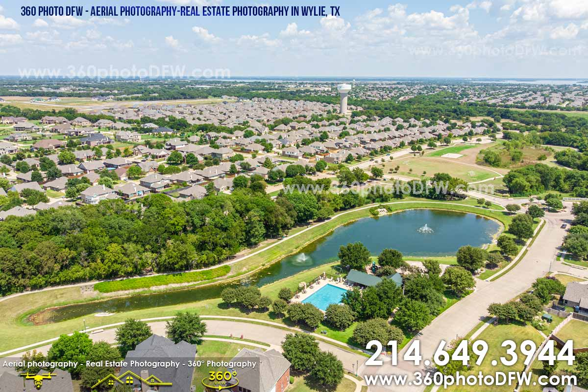Aerial Photography, Real Estate Photography in Wylie, TX - 360 Photo DFW - 214.649.3844