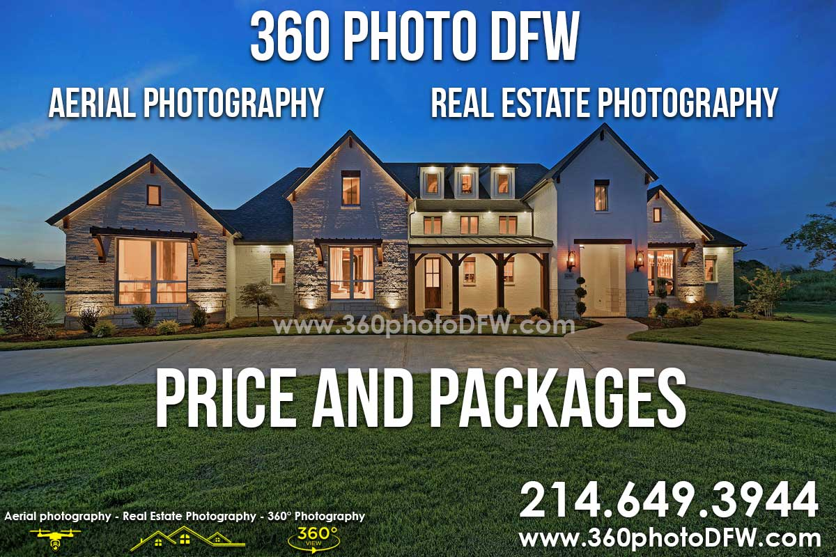 Dallas Real Estate Photography Aerial Photography Price and Packages - 360 Photo DFW - 214.649.3844