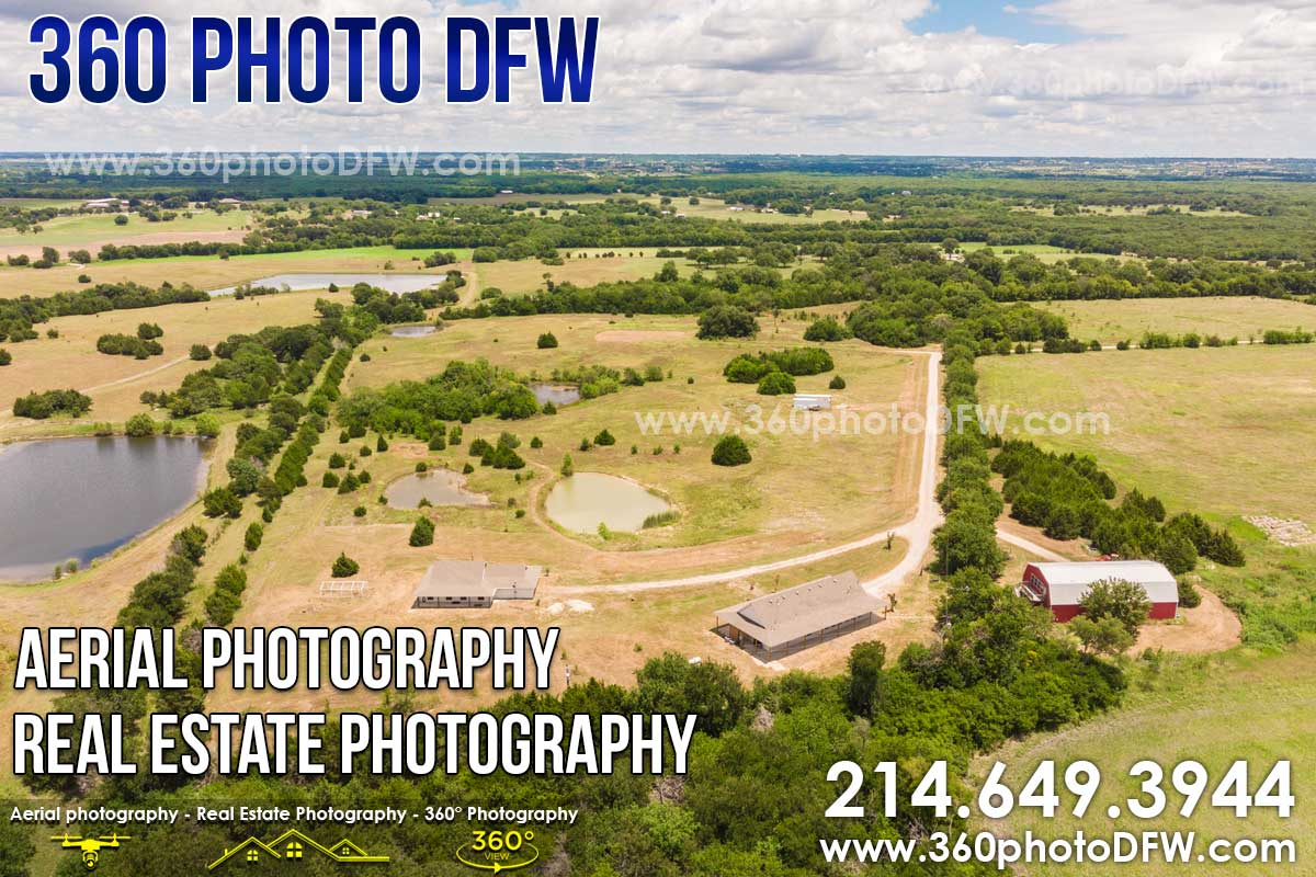 Aerial Photography, Real Estate Photography in Farmersville, TX - 360 Photo DFW - 214.649.3844