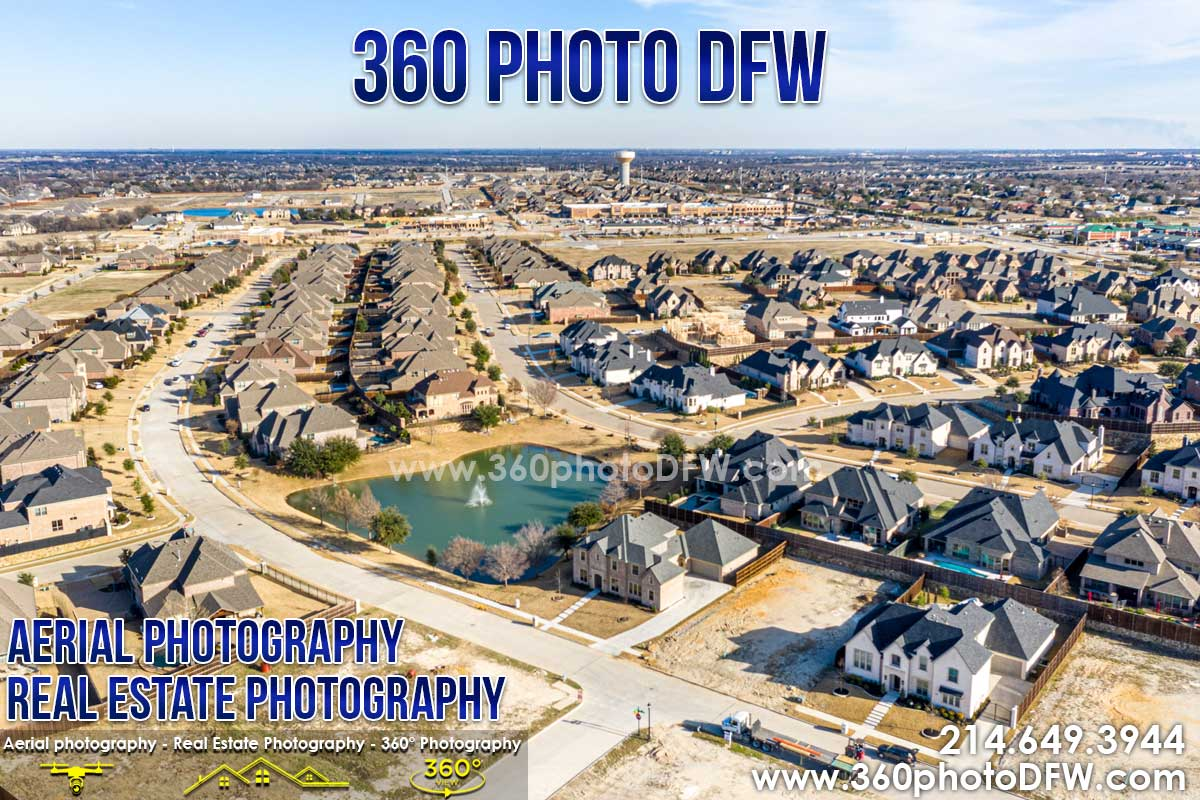Aerial Photography, Real Estate Photography in Prosper, TX - 360 Photo DFW -214.649.3844