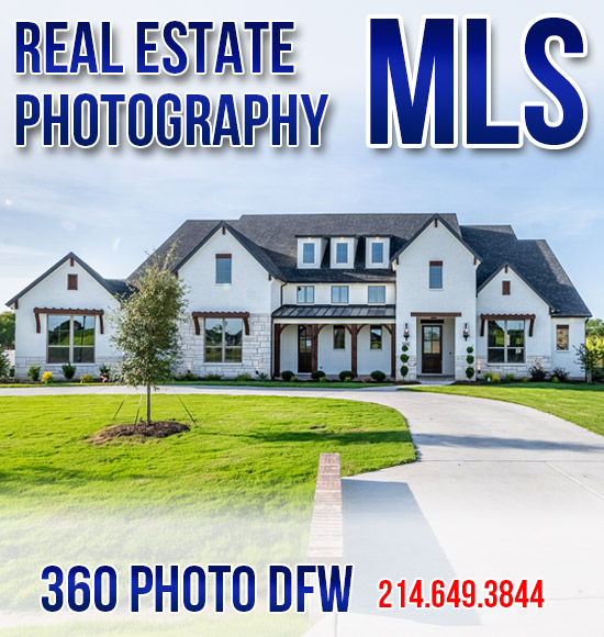 Real Estate Photography in Dallas-Fort Worth- MLS Ready - 360 Photo DFW - 214-649-3844