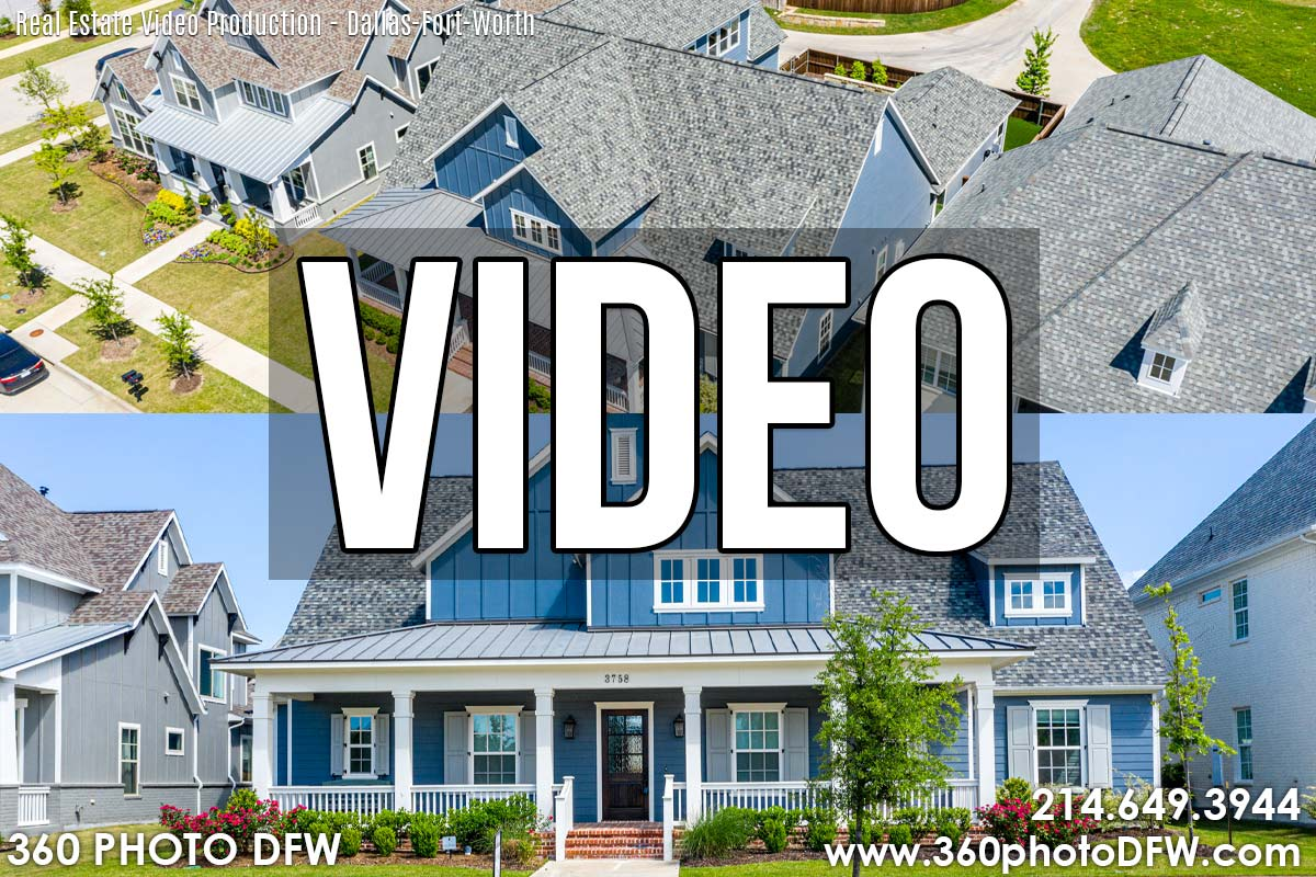 Video Walk-through For Real Estate in Dallas-Fort Worth - 360 Photo DFW